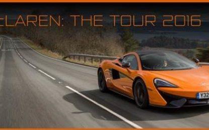 Il 2016 McLaren Automotive in un video