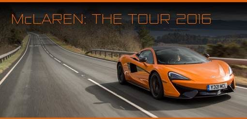 Il 2016 McLaren Automotive in un video