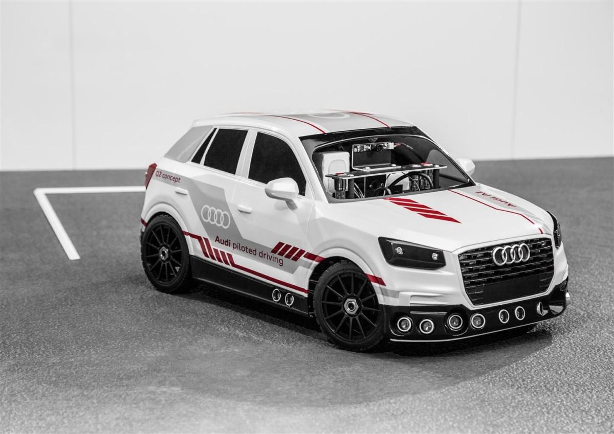 Audi e il parcheggio automatico intelligente