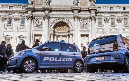 Quattro e-up! alla Polizia di Stato