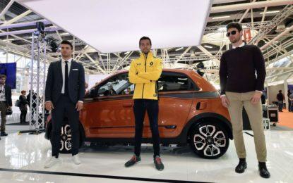 "Nuova Twingo GT presenta ""The Turbo Outfit"""