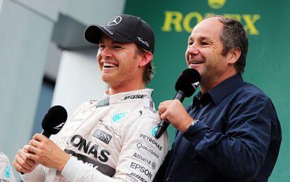 Berger non esclude il ritorno di Rosberg