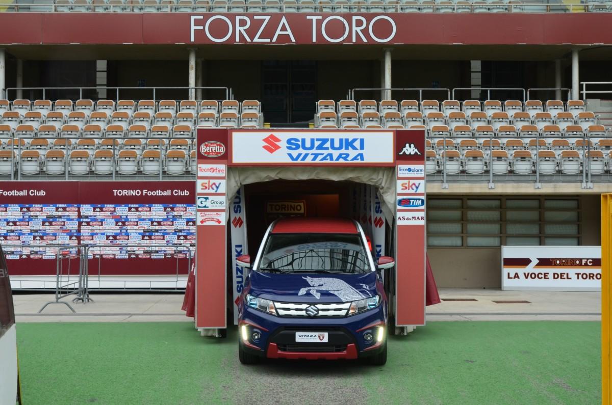 Suzuki oggi alle 17 al Motor Show con il Torino FC