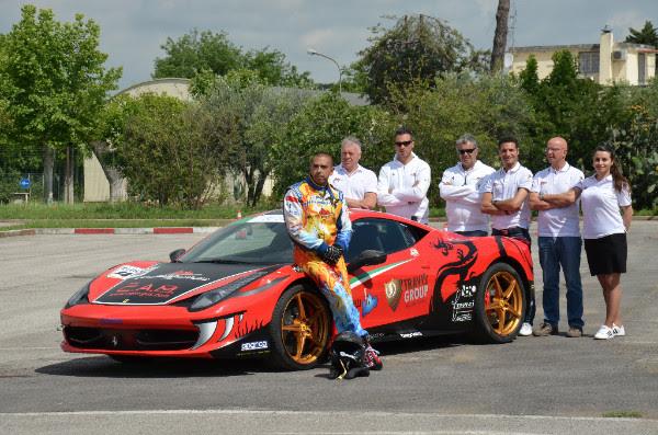 Una Ferrari da record per Amatrice
