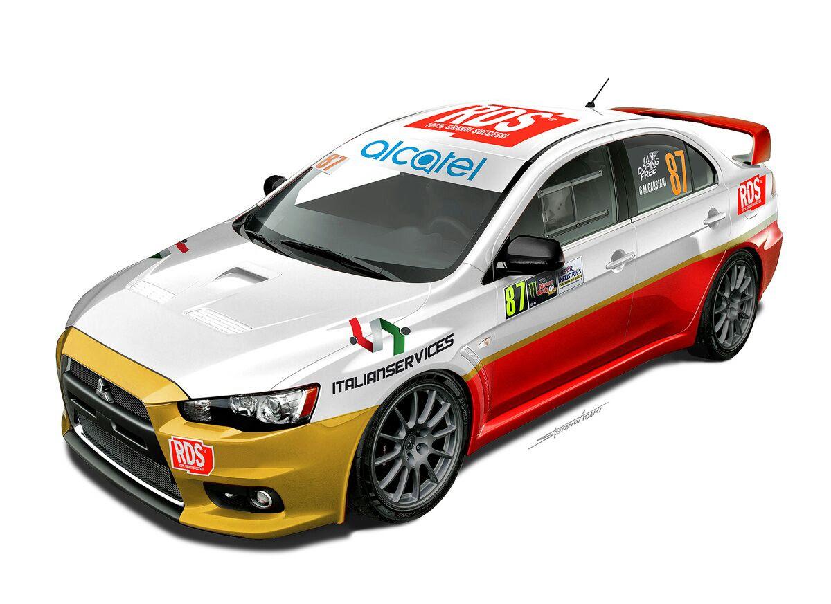 Gabbiani con Piva e RDS al Monza Rally Show