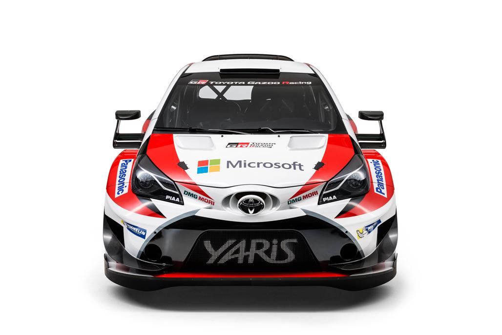 Toyota GAZOO Racing presenta la Yaris WRC