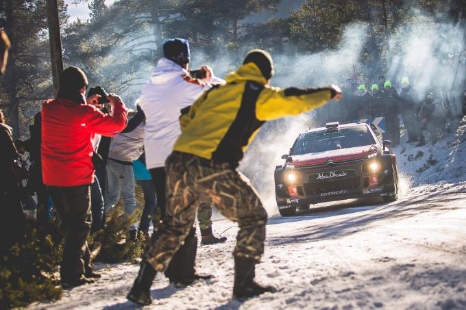 Prima vittoria di tappa C3 WRC al Col de Turini