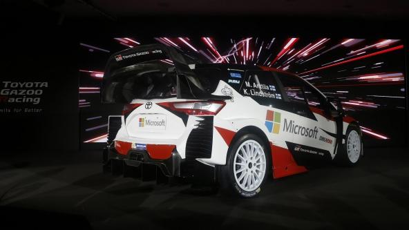 WRC: comincia l'avventura del team TOYOTA GAZOO Racing