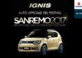 Suzuki IGNIS Auto Ufficiale del Festival di Sanremo 2017