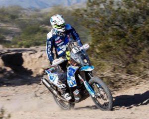 Livio Metelli alla Dakar con LS2 Helmets