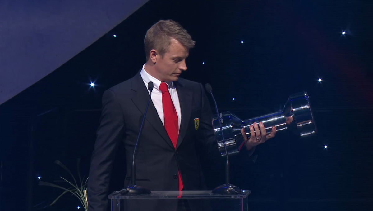 Kimi Raikkonen ambasciatore per lo sport