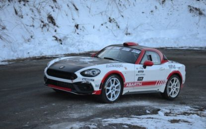 Nuova Abarth 124 Rally: debutto a Montecarlo