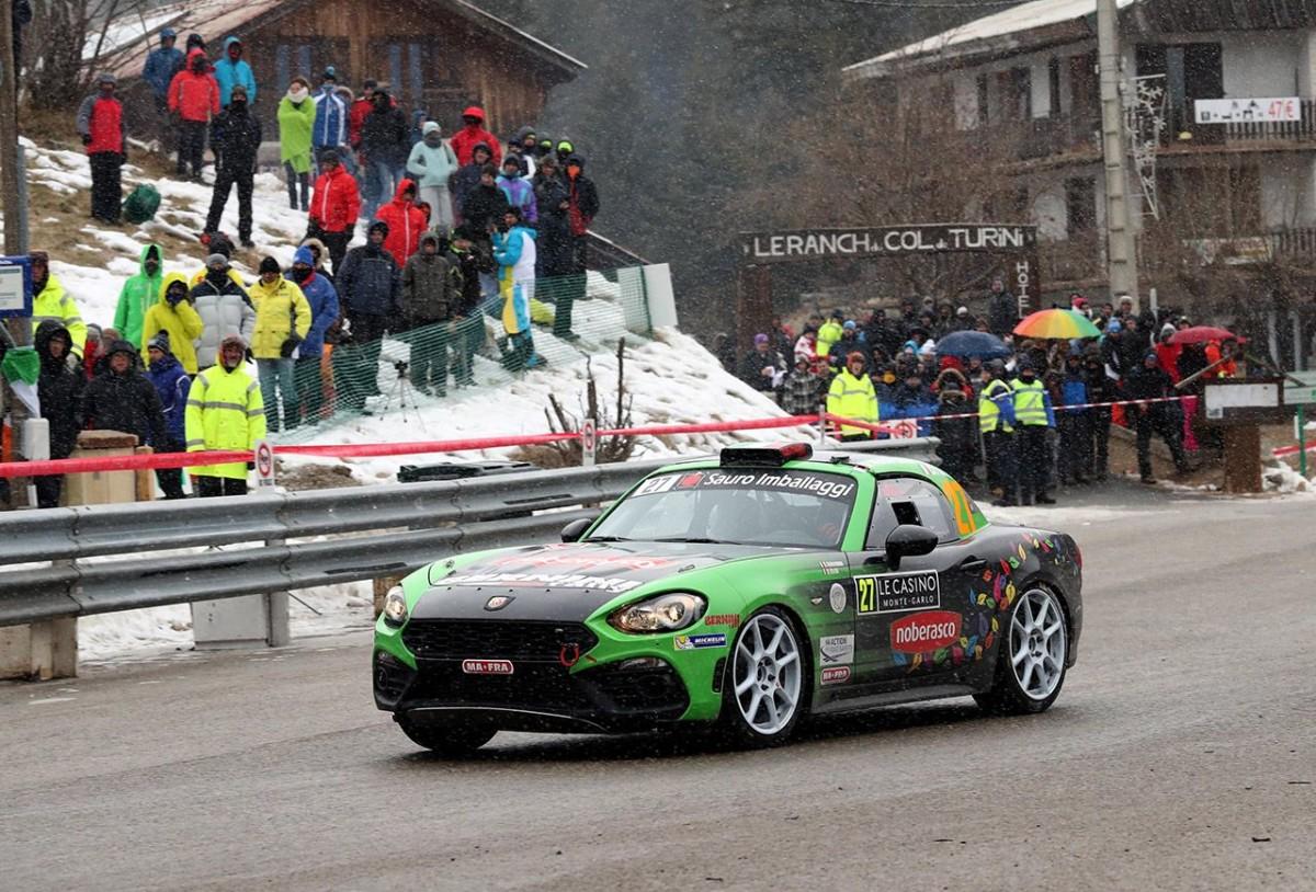 Ottimo debutto per la Abarth 124 rally