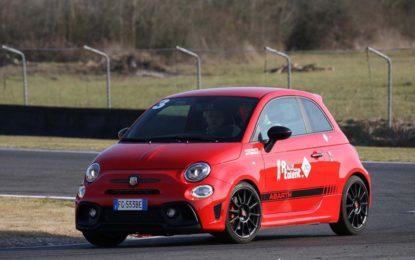 Abarth 595 Competizione: show al Circuito di Siena