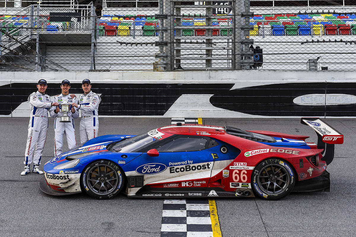 Daytona: vittoria Ford GT nella categoria GTLM
