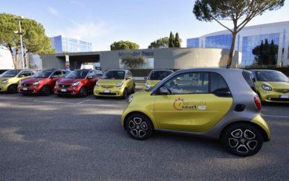 Da Roma a Bologna: 300 Miglia in smart