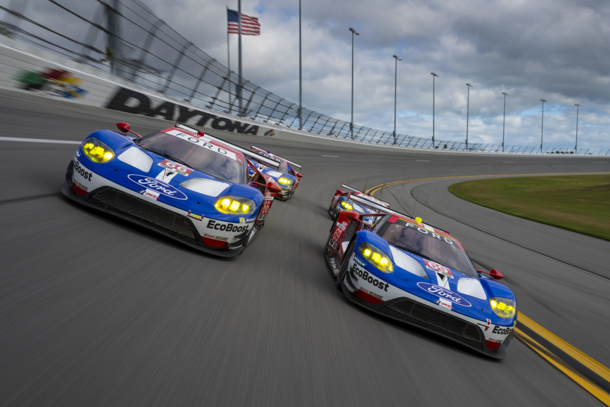 Ford GT pronta per la 24 Ore di Daytona