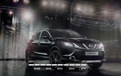 Nissan Qashqai: 10 anni di successi in video