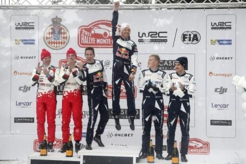 Il trionfo di Ogier a Monte Carlo su Red Bull TV