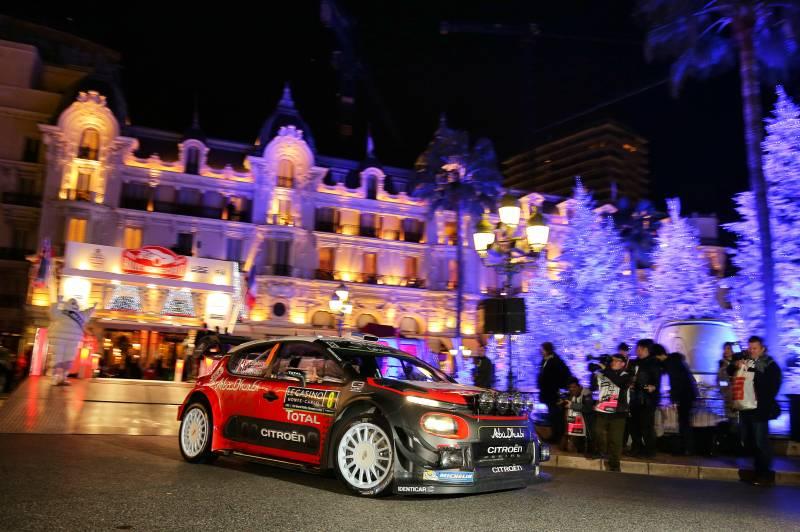 WRC Monte Carlo: il punto Citroen sul primo giorno