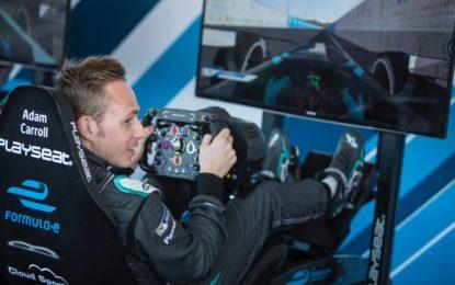 Panasonic Jaguar Racing pronto per il VISA Vegas eRace