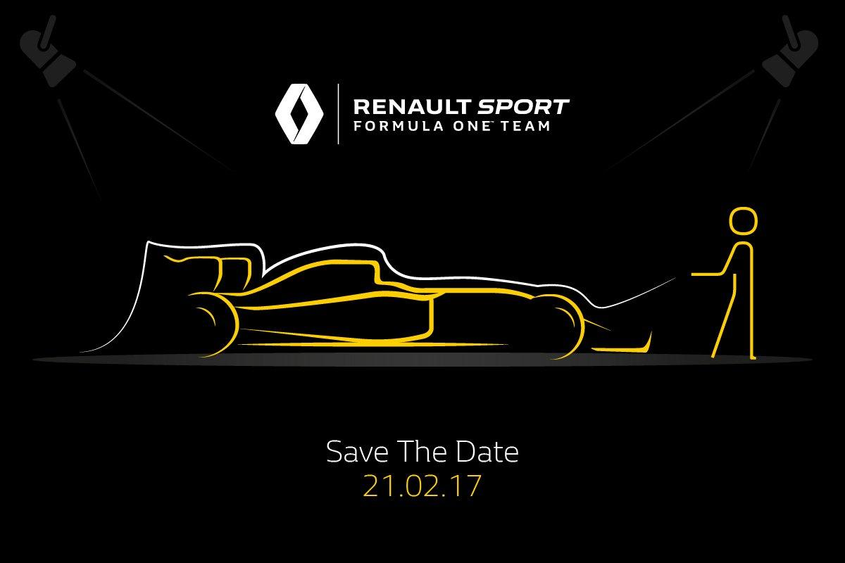 Renault Sport F1: presentazione il 21 febbraio