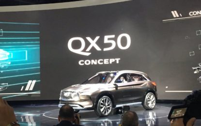 Detroit: Infiniti QX50 Concept