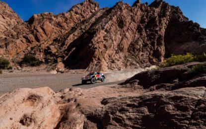 Dakar: tripletta movimentata per le 3008DKR