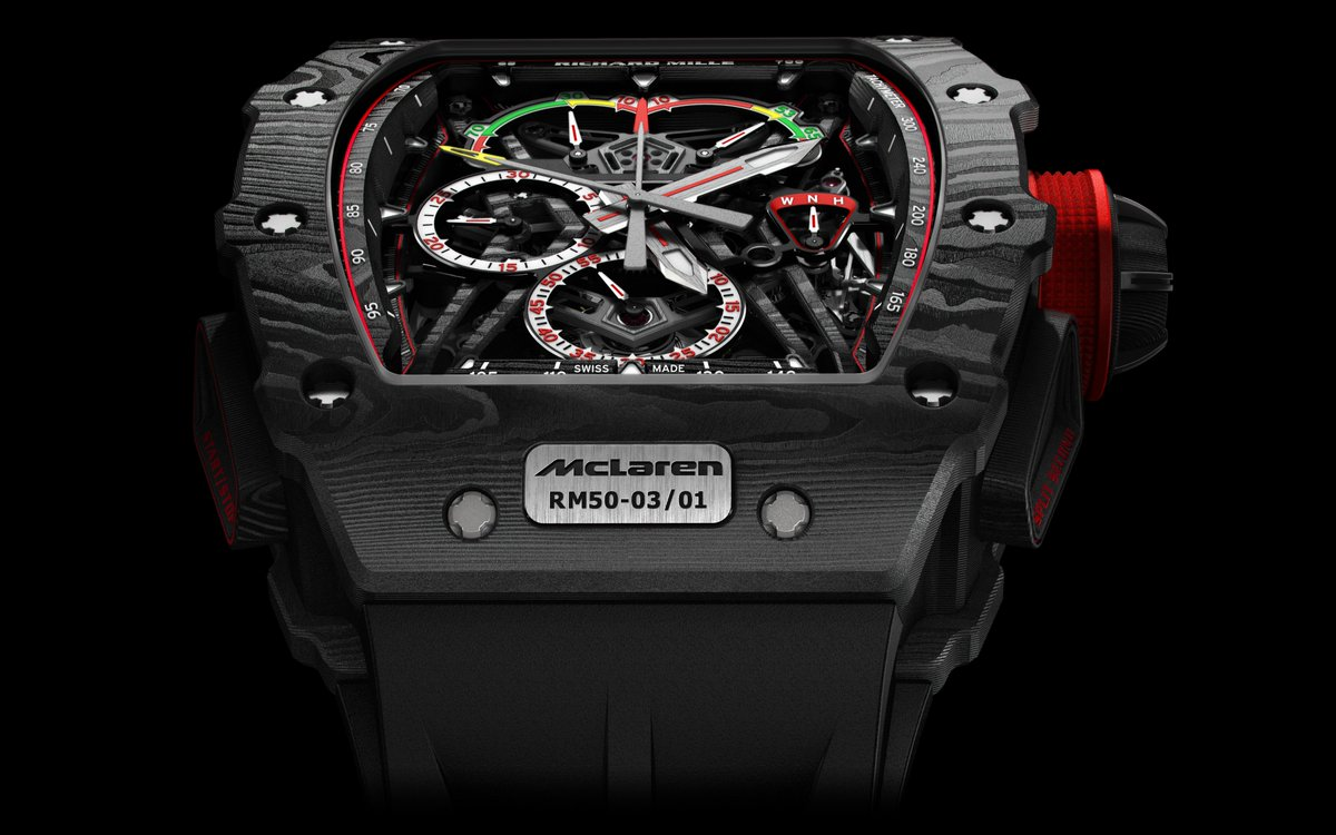 Richard Mille and McLaren RM 50-03