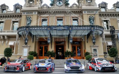 Con il Rally di Montecarlo è iniziato il WRC su Fox Sports