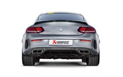 Akrapovič per Mercedes-AMG C 63 Coupé