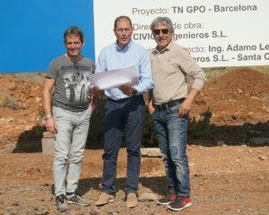 Lucchinelli e Caffi in visita al Circuito del Motore di Tenerife