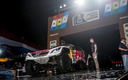 Dakar: prima tappa con cautela per le 3008DKR