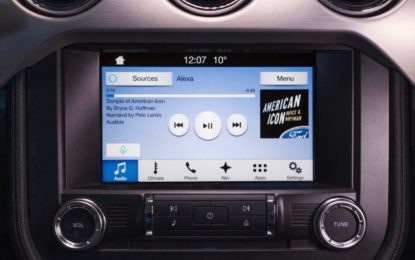 Ford integra nel SYNC 3 i servizi vocali cloud di Amazon Alexa