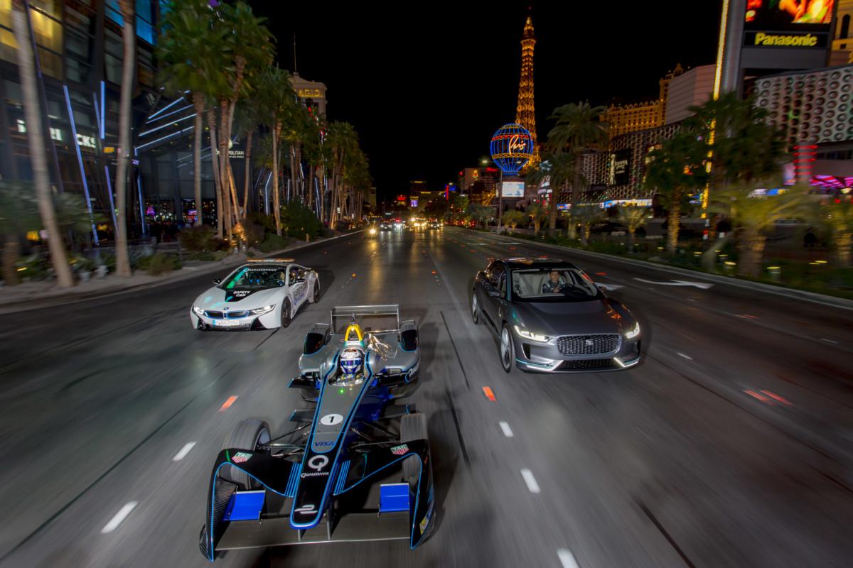 La Formula E arriva a Las Vegas
