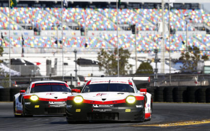 IMSA: two new 911 RSR at official test for Daytona