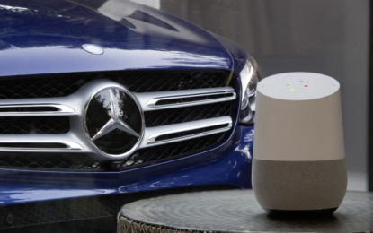 Mercedes-Benz: collaborazione con Google Assistant