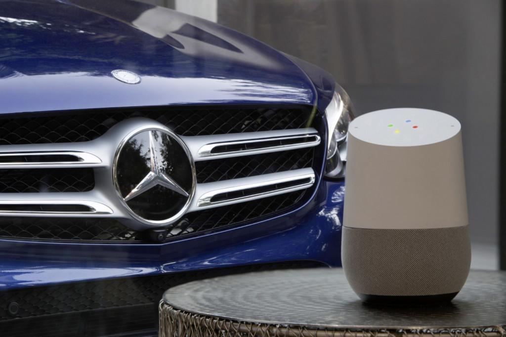 Mercedes-Benz: collaborazione con Google Assistant