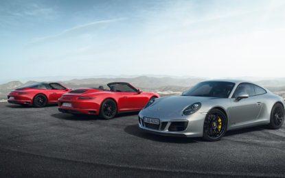 Ecco i nuovi modelli Porsche 911 GTS