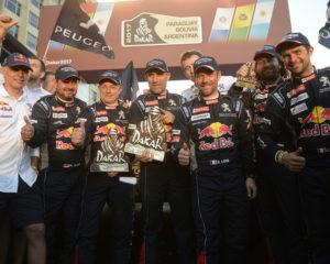 Sparco al fianco dei vincitori della Dakar 2017