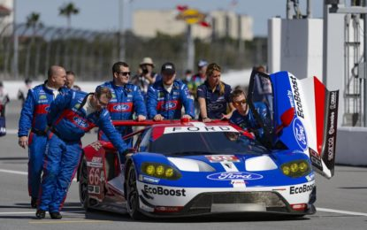 Sparco e Ford Chip Ganassi vincenti a Daytona