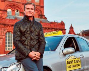 Aviva: Coulthard tassista spericolato!