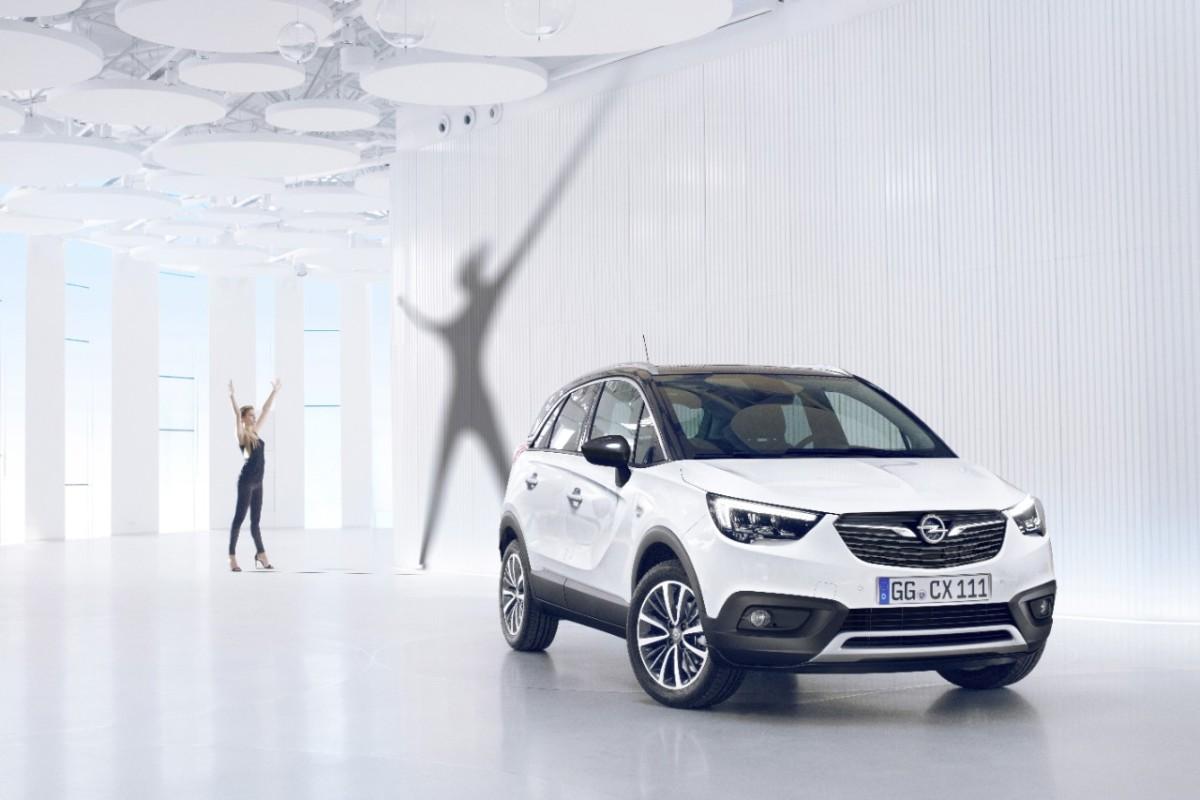 Nuovo Opel Crossland X