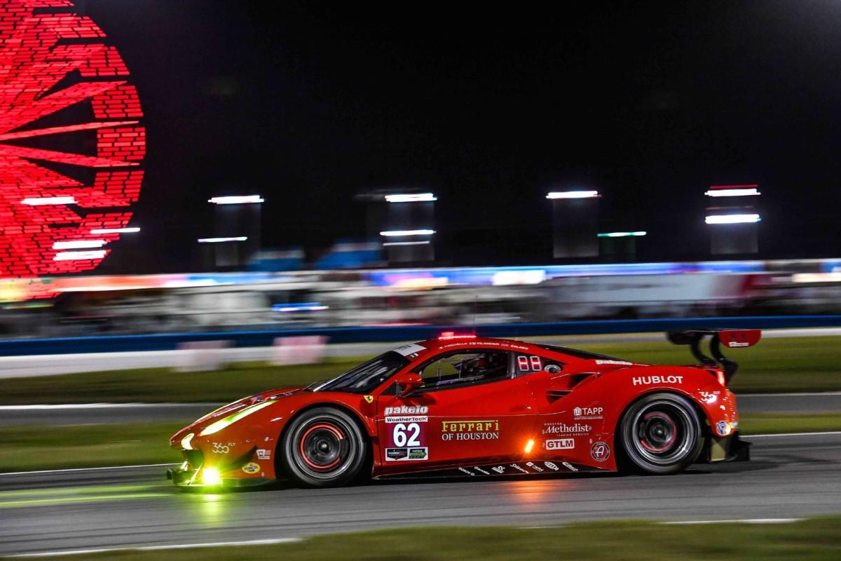 Daytona: 3° posto per la Ferrari di Fisichella-Vilander-Calado