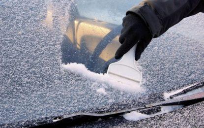 Freddo e neve: rischi in più per i vetri auto