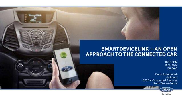 Ford e Toyota creano SmartDeviceLink Consortium