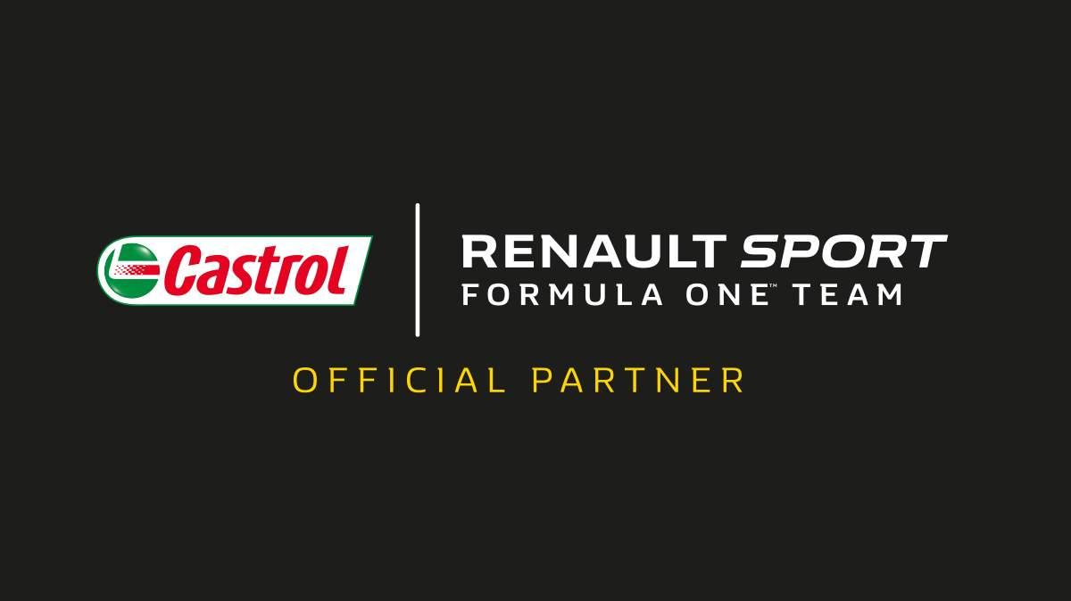 BP e Castrol tornano in F1 con Renault Sport Racing