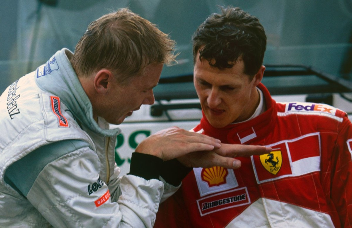 Michael Schumacher: auguri anche da Hakkinen