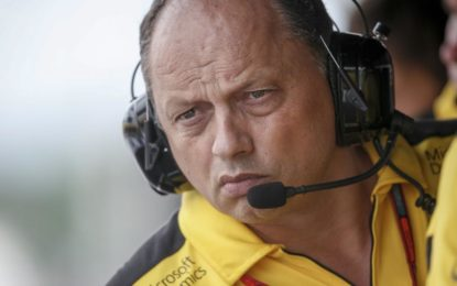 Vasseur lascia Renault F1 e non sarà sostituito