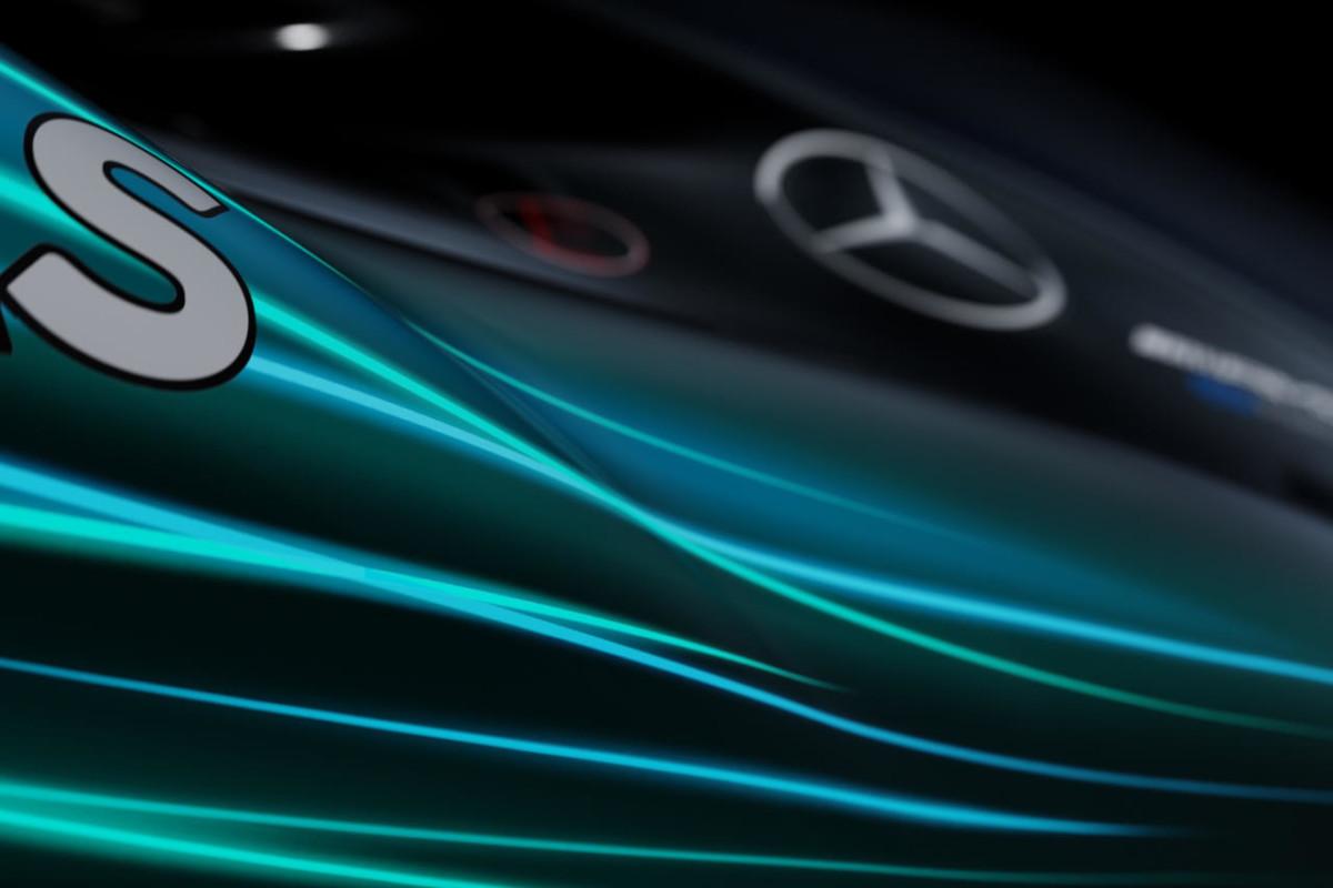 Prime immagini della Mercedes W08